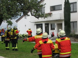 Feuerwehreinsatz in der Reichenbacher Str.
